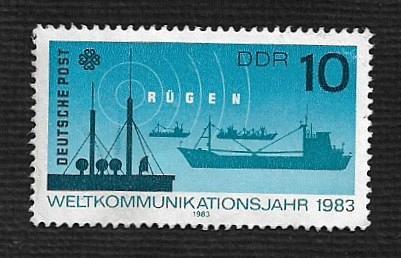 German DDR MNH Scott #2320 Catalog Value $.25
