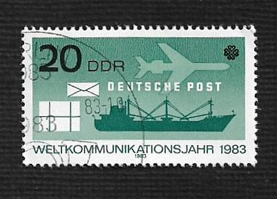 Germany DDR Used Scott #2321 Catalog Value $.25