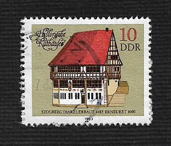 Germany DDR Used Scott #2324 Catalog Value $.25