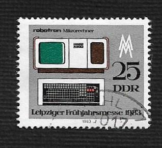 Germany DDR Used Scott #2329 Catalog Value $.25
