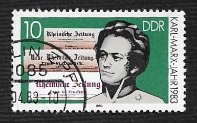 Germany DDR Used Scott #2332 Catalog Value $.25