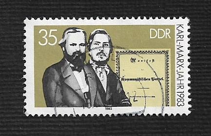 Germany DDR Used Scott #2334 Catalog Value $.25
