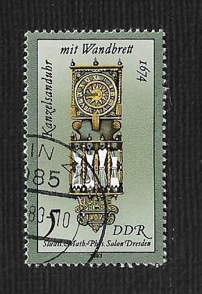 Germany DDR Used Scott #2343 Catalog Value $.25