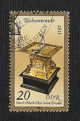 Germany DDR Used Scott #2345 Catalog Value $.25