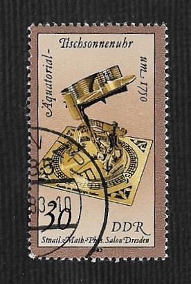 Germany DDR Used Scott #2346 Catalog Value $.25