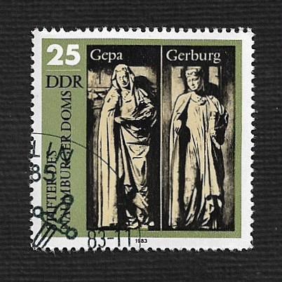 Germany DDR Used Scott #2356 Catalog Value $.40