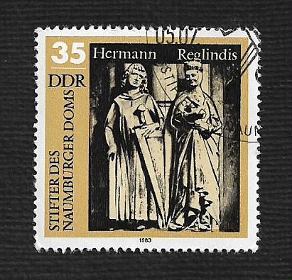 Germany DDR Used Scott #2357 Catalog Value $.45