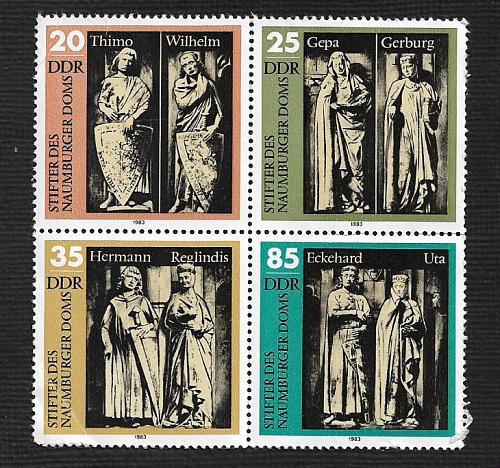 German DDR MNH Scott #2358a Catalog Value $3.00