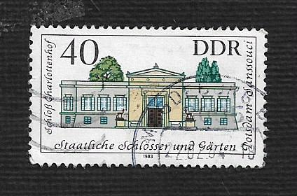 German DDR Used Scott #2375 Catalog Value $.25
