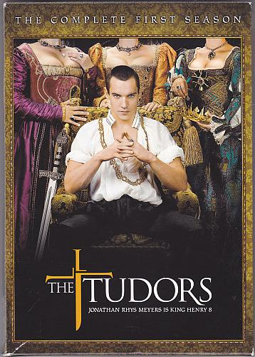 Tudors - Complete 1st Season DVD 2008, 4-Disc Set - Good