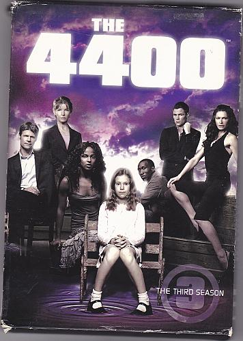 The 4400 - The Complete 3rd Season DVD 2007, 4-Disc Set - Good
