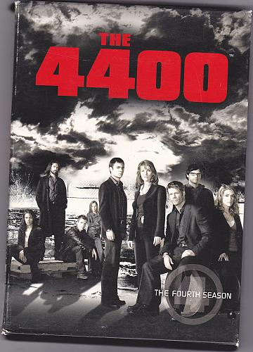 The 4400 - Complete 4th Season DVD 2008 4-Disc Set - Very Good