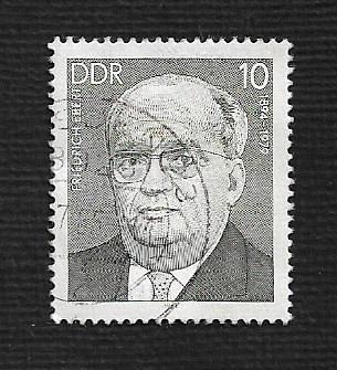 German DDR Used Scott #2390 Catalog Value $.25