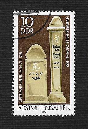 German DDR Used Scott #2394 Catalog Value $.25