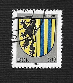 German DDR Used Scott #2401 Catalog Value $.35
