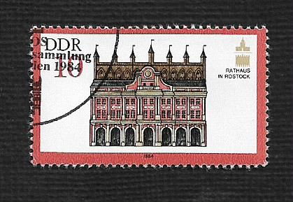 German DDR Used Scott #2407 Catalog Value $.25