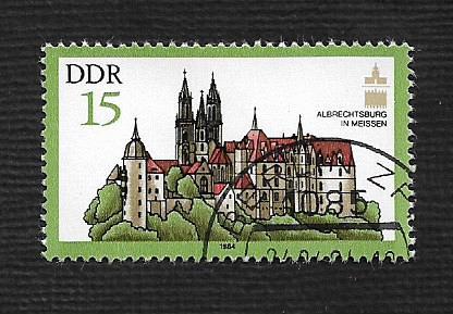 German DDR Used Scott #2408 Catalog Value $.25