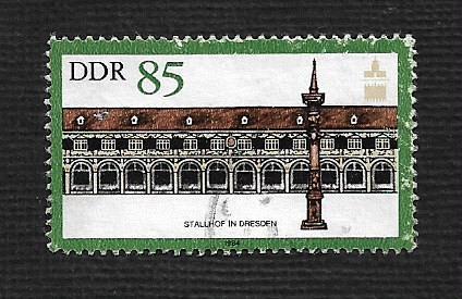 German DDR Used Scott #2410 Catalog Value $.85