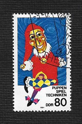 German DDR Used Scott #2415 Catalog Value $.70
