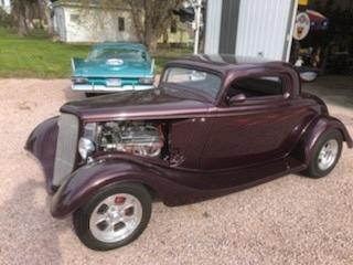 1934 Ford Coupe Chop Top Fiberglass For Sale in Haxtun, Colorado 80731