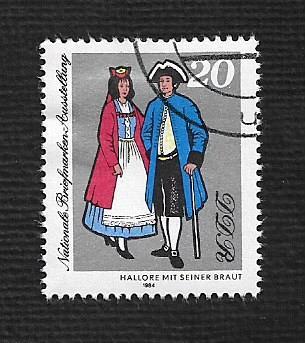 German DDR Used Scott #2421 Catalog Value $.25