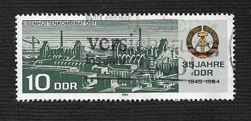 German DDR Used Scott #2427 Catalog Value $.25
