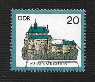 Germany DDR Used Scott #2448 Catalog Value $.25