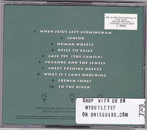 Human Wheels by John Mellencamp CD 1993 - Very Good