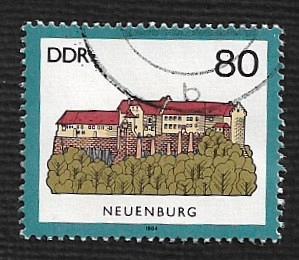 Germany DDR Used Scott #2450 Catalog Value $.65