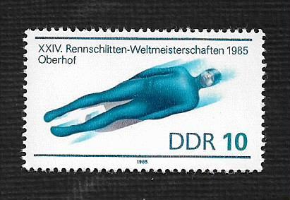 German DDR MNH Scott #2455 Catalog Value $.30