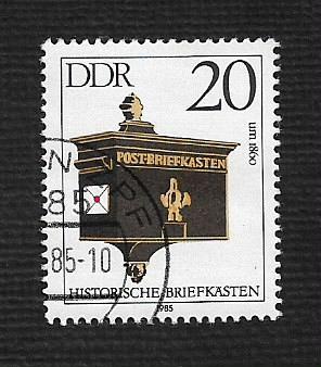 Germany DDR Used Scott #2457 Catalog Value $.25