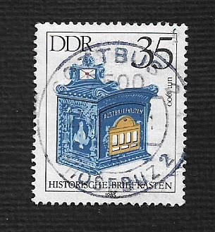 Germany DDR Used Scott #2458 Catalog Value $.30