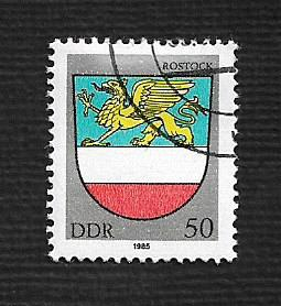 German DDR Used Scott #2466 Catalog Value $.35
