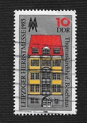 German DDR Used Scott #2492 Catalog Value $.25