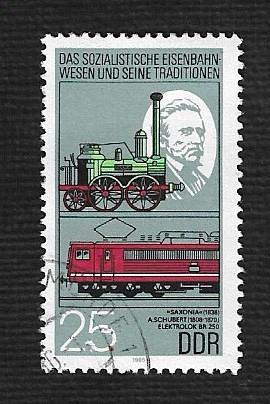 German DDR Used Scott #2497 Catalog Value $.25