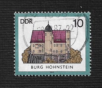 German DDR Used Scott #2504 Catalog Value $.25