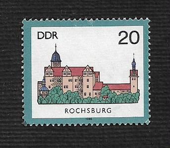 German DDR MNH Scott #2505 Catalog Value $.25