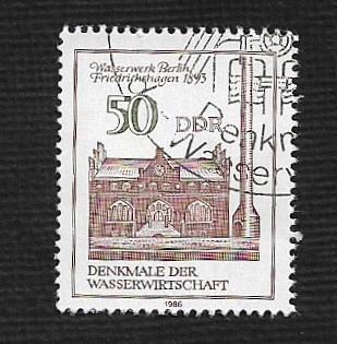 German DDR Used Scott #2518 Catalog Value $.45