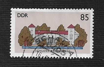 German DDR Used Scott #2557 Catalog Value $.80