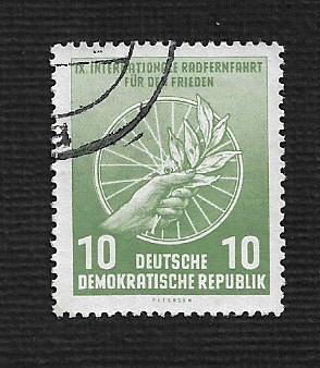 Germany DDR Used Scott #289 Catalog Value $.25