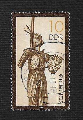 Germany DDR Used Scott #2579 Catalog Value $.25