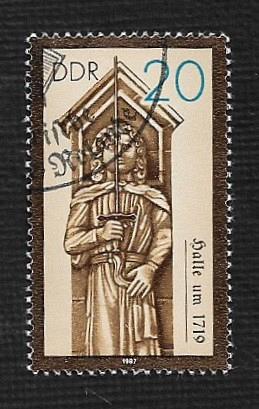 Germany DDR Used Scott #2580 Catalog Value $.25