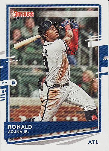 2020 Donruss #170 - Ronald Acuna Jr. - Braves