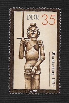 German DDR MNH Scott #2581 Catalog Value $.30