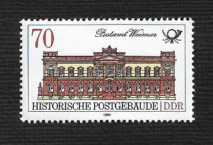 German DDR MNH Scott #2585 Catalog Value $.45