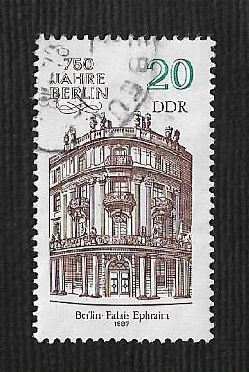 Germany DDR Used Scott #2587 Catalog Value $.25