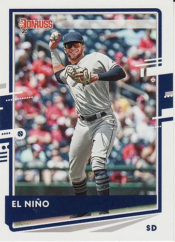 2020 Donruss #83 - Fernando Tatis Jr. - El Nino - Padres