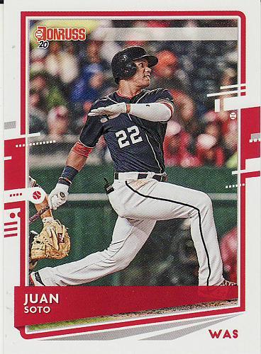 2020 Donruss #162 - Juan Soto - Nationals