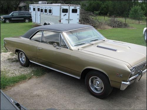 1967 Chevrolet Chevelle SS Coupe For Sale in Colleyville, Texas 76034