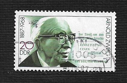 Germany DDR Used Scott #2604 Catalog Value $.25